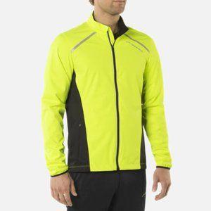 Brooks Mens Running NightLife Infiniti Jacket IV L